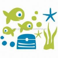 Buy cheap Stickers for Wall Decoration, Made of PVC and Vinyl, Customized Designs are Accepted product