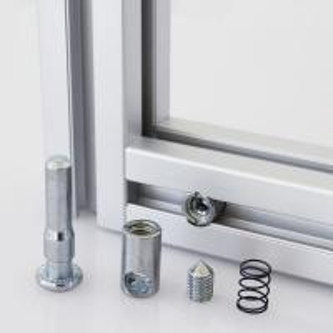 Buy cheap Compatible Aluminum Alloy Profile Accessories For T Slot Aluminum Extrusion product