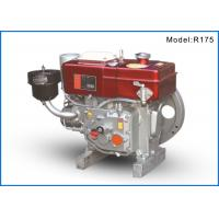 Buy cheap R175 Single Cylinder Small Marine Diesel Engines For Boat , 75mm Cylinder from wholesalers