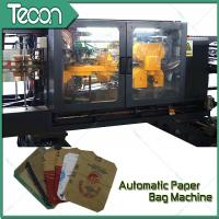 Buy cheap 3 Meter Height Automatic Paper Bag Making Machine with Two & Four Colours Printer product