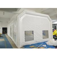 Buy cheap Airtight Portable Paint Booth Tent 0.6 Mm PVC Tarpaulin Easy Installation product