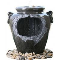 """Buy cheap Chinese Style Jar Asian Garden Fountains , Outdoor Cascading Water Fountains 18"""" product"""