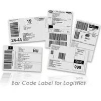 Buy cheap Anti Counterfeit Logistic Labels , Adhesive Thermal Label Sticker product