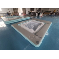 Buy cheap Double Wall Fabric Floating Ocean Sea Swimming Pool Inflatable Yacht Pool product