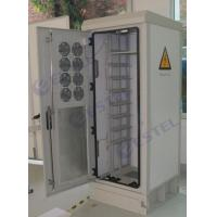 Buy cheap 19 Inch Rack Mount Outdoor Telecom Cabinet Anti Theft Lock Bar 8 Ventilation Fan from wholesalers