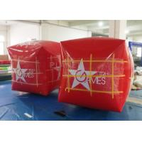 Buy cheap Square Inflatable Marker Buoy , Floating Marker Buoys Apply To Ocean product
