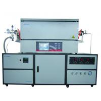 Quality 1300℃ Lab Tube Furnace With Premium Stainless Steel Needle Valve Of Ingress / for sale