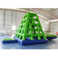 Buy cheap Aqua Sports Inflatable Water Tower Floating Water Climbing Slide For Sea product
