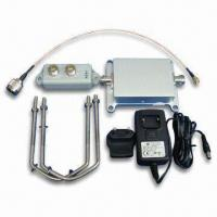 Buy cheap 802.11A/5.1-5.8G Signal Booster with 1W Output Power for Outdoor Use, LEDs Indication product