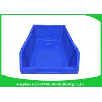 Buy cheap Customized Industrial Plastic Storage Containers , Standard Size Stackable Storage Bins product