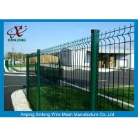 Buy cheap Galvanized Malla De Alambre Soldado Customised Height For Security product