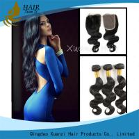 Buy cheap Full Cuticle Unprocessed Malaysian Virgin Hair Extensions No Shedding 100g product