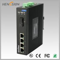 Buy cheap 1.2Mpps Fiber Optical Network Switch , Din Rail Installed Outdoor Ethernet from wholesalers