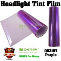 Buy cheap Car Headlight Tint Film 3 layers 0.3*10m/roll - Purple product