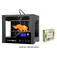 Buy cheap Single Extruder Large Format 3D Printer Cura Software Black Nozzle 0.4mm product