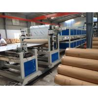 Buy cheap PE Pipe Machine Aluminum Composite Panel Line 5m / min 1200mm Height product