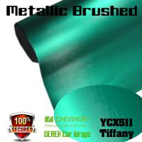 Buy cheap Matte Metallic Brushed Vinyl Wrapping Film - Matte Metallic Brushed Tiffany product