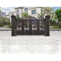 Buy cheap Electric Motor Gate Garden Gate Fence Post Architectural Aluminium Profiles product