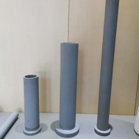 Buy cheap Cast Iron 850c Thermocouple Protection Tubes For Degassing Crucibles product
