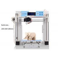Buy cheap Commercial Rapid Prototyping 3D Printer FDM Metal Frame Self - Assembly product