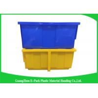 Buy cheap Light Stackable Industrial Storage Bins , Product Protection Stackable Storage Boxes product