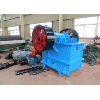 Buy cheap 100 TPH Rock Jaw Crusher / Rock Crushing Machine PE 500 × 750 mm Feed Opening product