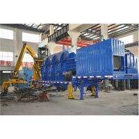 Buy cheap High Efficient Automatical Portable Mobile Baler Machine , Steel Baling Press product