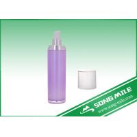 Buy cheap 50ml Acrylic Pink Cosmetic Packaging Airless Bottle for Cosmetic product