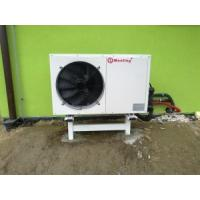 High Efficiency Electric Air Source Heat Pump 380V / 220V / 50HZ High Water Temperature Outlet