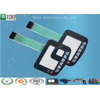 Buy cheap Matte Finish Polyester Overlay  Polydome  Embossing keys  Membrane Switch product