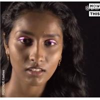 Buy cheap Colour interactive Changing LED Eyelashes For dance product
