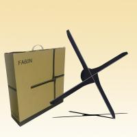 Buy cheap 3d 100 Cm Hologram Display Fan With SD Card / WiFi Indoor Advertising Equipment product