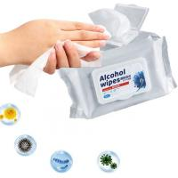 Buy cheap Alcohol Alcohol Wet Wipes Antibacterial Antiseptic For Killing 99.99% Virus from wholesalers