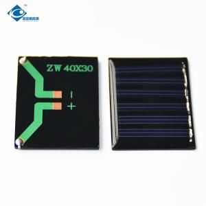 China 0.15W Silicon Solar PV Module ZW-4030 Durable Mono Solar Photovoltaic Panels 3V on sale