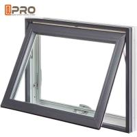 Buy cheap Frosted Glass Small Aluminum Toilet Awning Window for Hotel Residencial product