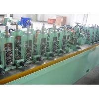 Buy cheap Straight Seam Welded Tube Mill Line 7 - 18 mm OD , Carbon Steel Pipe Mill Production Line product