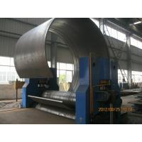 Buy cheap CNC Hydraulic Sheet Metal Rolling Machine With High Precision 3 Roller Structure product