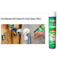 Buy cheap All Purpose Waterproof Silicone Sealant Fireproof High Density Exterior PU Foam Spray product
