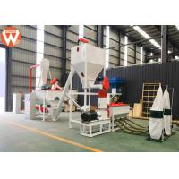 Buy cheap 1T/H MCC Control Poultry Feed Processing Plant Commercial Feed Mill Equipment With Screw Conveyor product