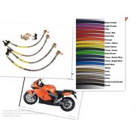 Buy cheap 1/8 SIZE Motorcycle Racing Colored TEFLON/PTFE Steel Braided Brake Line Hose Kits product