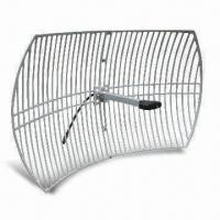 Buy cheap WLAN Antenna, Comes in 2.4GHz Grid Type, with 24dBi Gain product