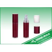 Buy cheap 80ml Red Acrylic Lotion Bottle with Red or Translucent Cap product