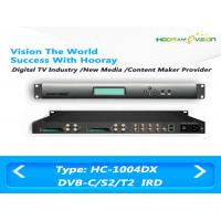 Buy cheap Satellite Terrestrial IRD Integrated Receiver Decoder 4 Tunners With 4 CAM Slot Multiplexing product