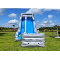 China 22 Feet Huge Rapid  Inflatable Water Slide For Kids Adults With 0.5MM PVC Tarpaulin on sale