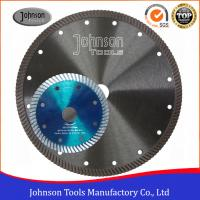 Buy cheap Smooth Diamond Stone Cutting Blades Cold Press Turbo Sintered Granite Cutting from wholesalers