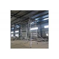 Buy cheap Painting Plastering Multi Purpose Aluminium Mobile Scaffold For Inspecting Roof product