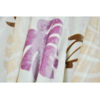 Buy cheap Breathable Soft Modal Blanket , Double Printed Raschel Blanket product