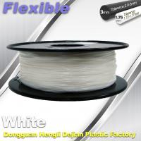 Buy cheap Red Flexible 3d Printer Filament materials in 3d printing 1.75 / 3.0 mm 0.8KG / Roll product
