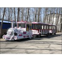 Buy cheap Amusement Park Electric Trackless Sightseeing Tourist Road Train from wholesalers
