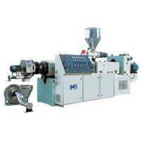Buy cheap PVC Plastic Granules Machine , High Speed Pellet Extruder product